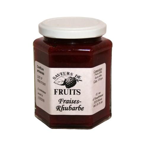 Confiture fraises/rhubarbe