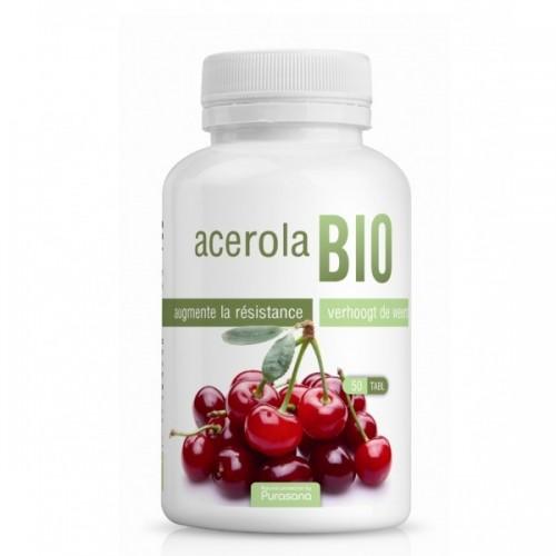 Acerola bio 50 tablettes (Purasana)