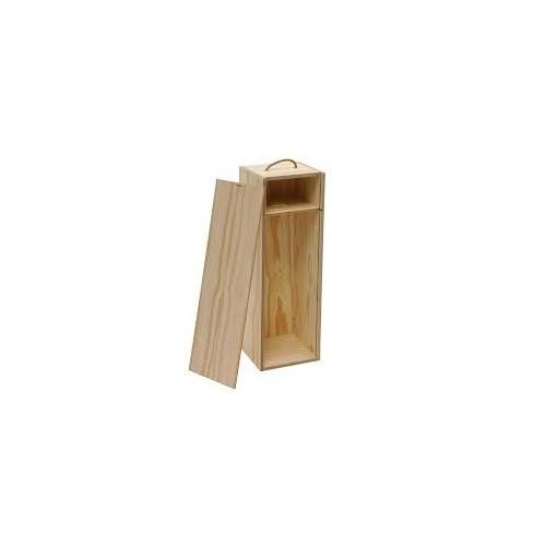 Coffret en bois pour 1 bouteille 75 cl