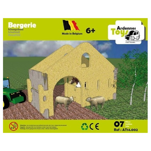 Bergerie (07 pces) (6 +) Ardennes Toys