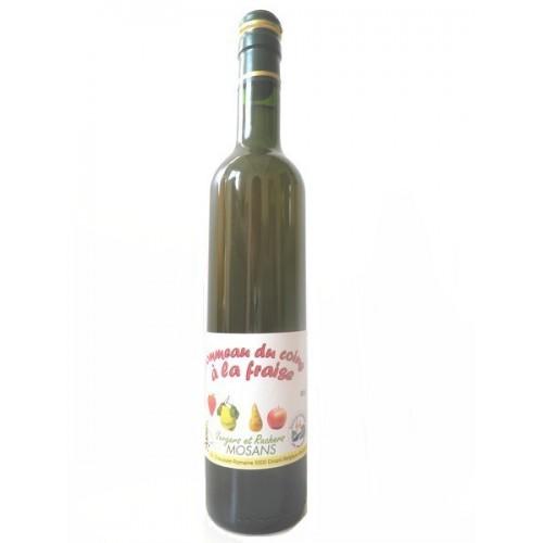 Pommeau du coing à la fraise 50 cl (Verger Mosans)