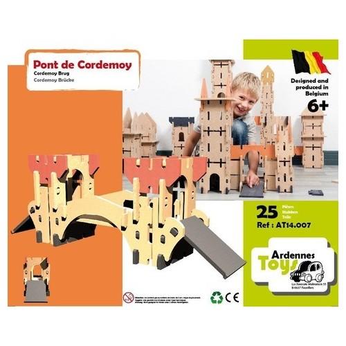 Cordemoy brug 25 stukken - 6+ (Ardennes toys)