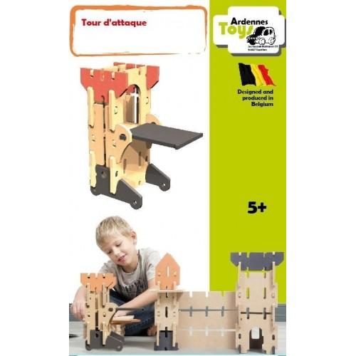 Aanvalstoren 14 stukken 5+ (Ardennes toys)