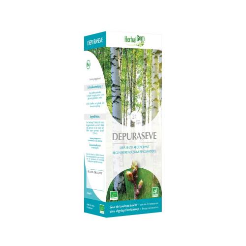 Depuraseve- berkensap bio 250  ml (Herbalgem)