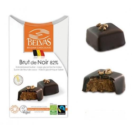 Brut de noir 82%  bio & Fairtrade 100 g (Belvas)