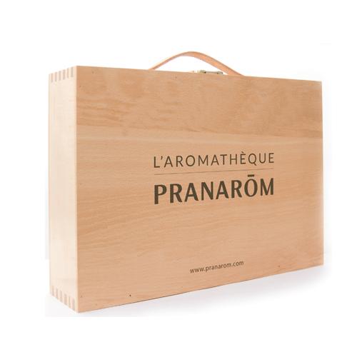 Aromathèque pour 60 flacons (Pranarôm) + livret sur les huiles essentielles OFFERT !