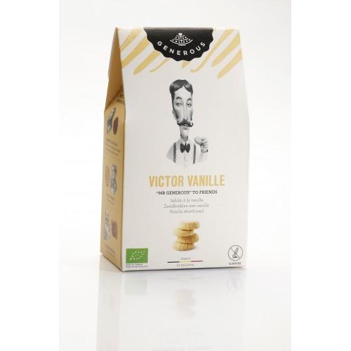 Zandkoekjes met vanille bio & zonder gluten 125 g (Generous)