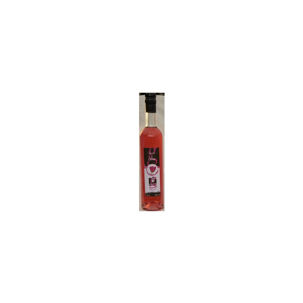 Liqueur de rose 50 cl