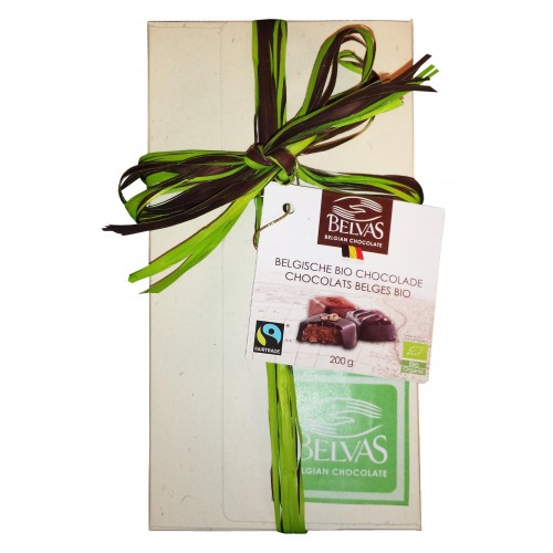 Ballotin de pralines Bio/Fairtrade Traditions  200 g (Belvas)