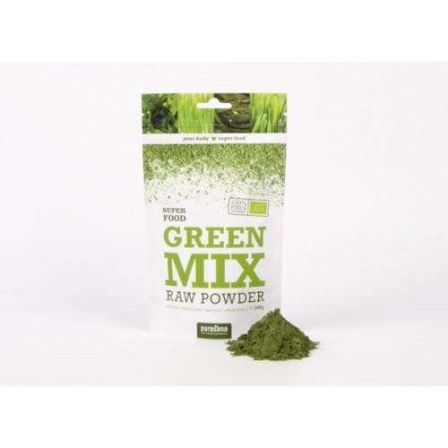 Mélange de poudre verte - Green Mix powder 200 gr (Purasana)