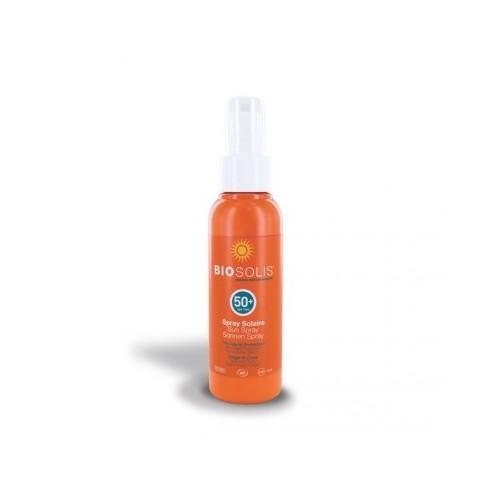 Spray solaire bio SPF 50+ Biosolis 100 ml