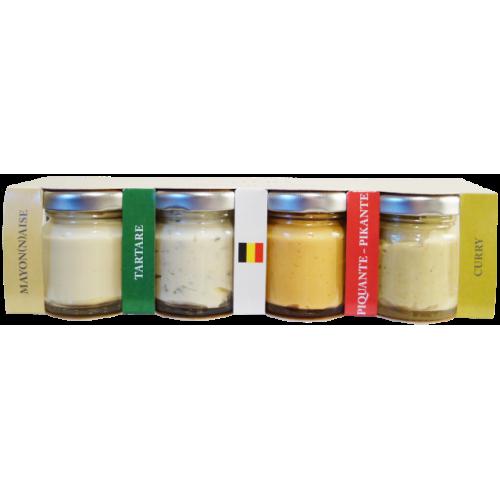 Kit de 4 sauces sélection BBQ 40 g (Natura) péremption 31/08/2017