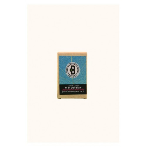 Savon bio peau grasse parfum Rose Garden 120 g (Bellebulle)