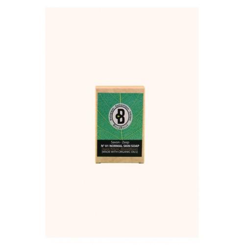 Savon bio peau normale Almond Blossom 120 g (Bellebulle)