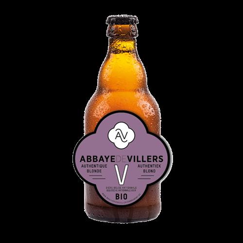 Blond Villers V bio 33 cl (Brouwerij Abbaye de Villers-La-Ville)