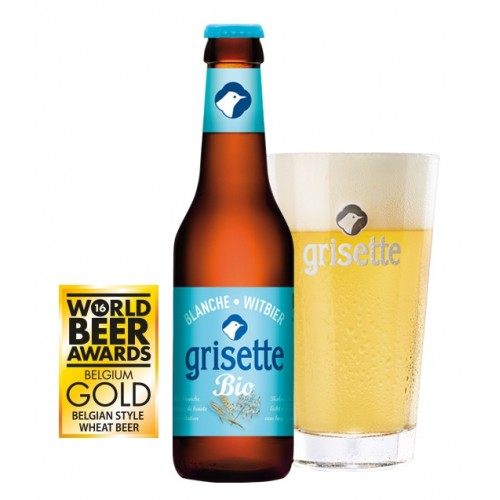 Grisette wit bio 25 cl - glutenvrij (Brasserie Saint-Feuillien)