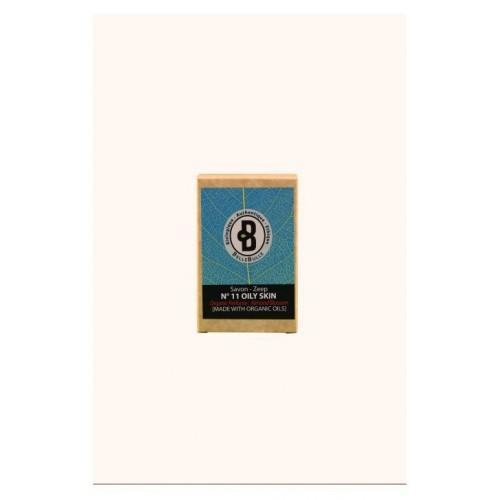 Savon bio peau grasse parfum Almond Blossom 120 g (Bellebulle)