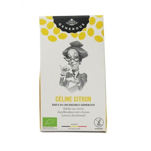 Biscuit fondant aux zestes de citron bio 40 g (Generous)