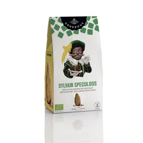 Speculoos nappés de chocolat Père fouettard bio 140 g (Generous)