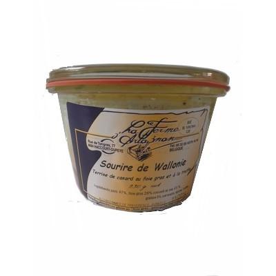 Terrine de canard au foie gras et à la truffe 230 g