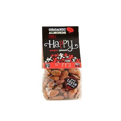 Amandelen bio chili 100 g (Happy People Planet)