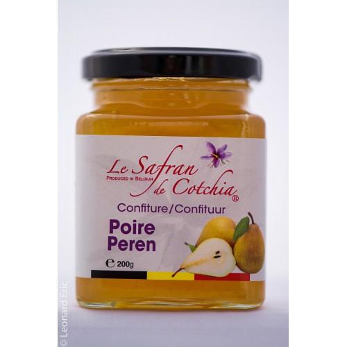 Confiture de poires au safran 200 g - Safran de Cotchia