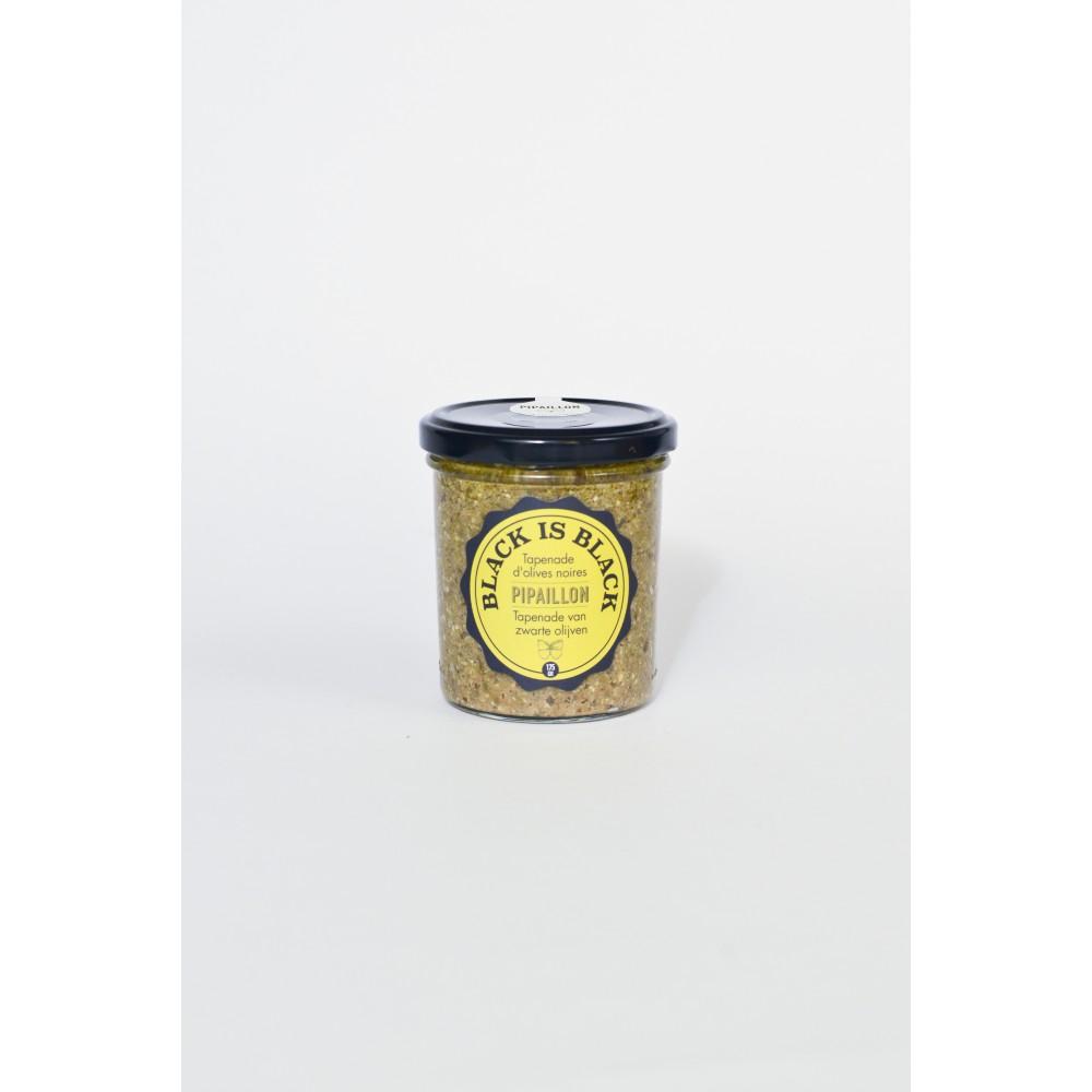 Tapenades aux olives noires bio 180 g (Pipaillon)