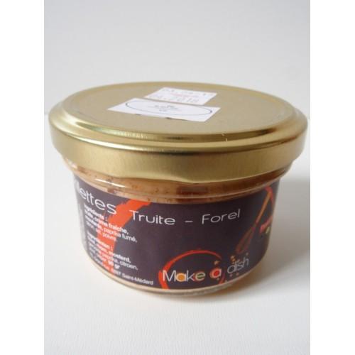 Rillette de truite (Make a dish)