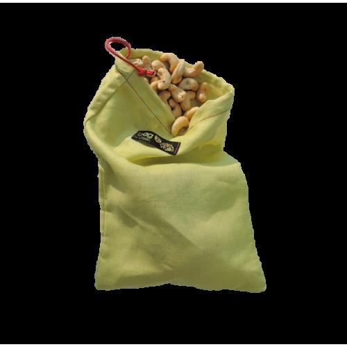 Sac à fruit et légumes en lin (Bag to green)