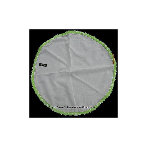 Etamine circulaire multifonction (Bag to green)