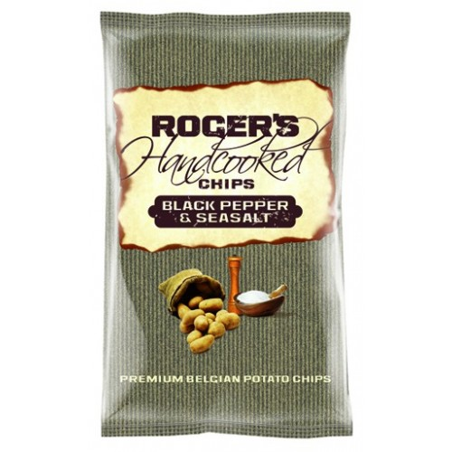 Black pepper & salt chips 150 g (Roger & Roger)