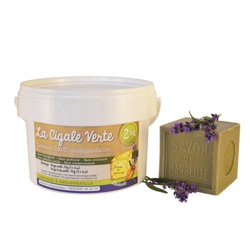 Lessive lavande recharge 2 kg (Wallo-wash)