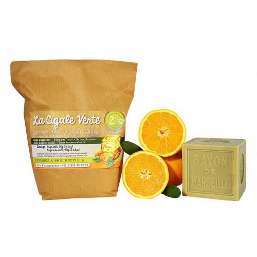 Wasmiddel met zoete sinaasappel (Wallowash)