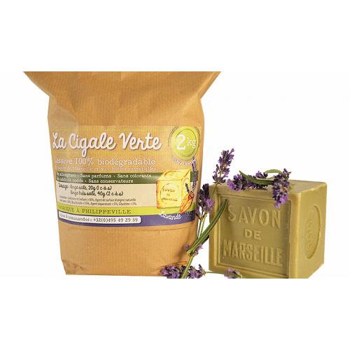 Wasmiddel met lavandel 2 kg (Wallowash)