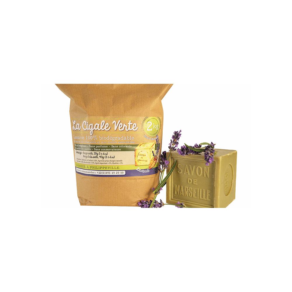 Lessive lavande 2 kg (Wallo-wash)