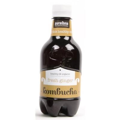 Kombucha gingembre 330 ml (Purasana)