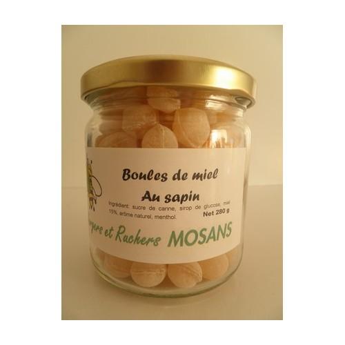 Boules de miel au sapin (Mosans)
