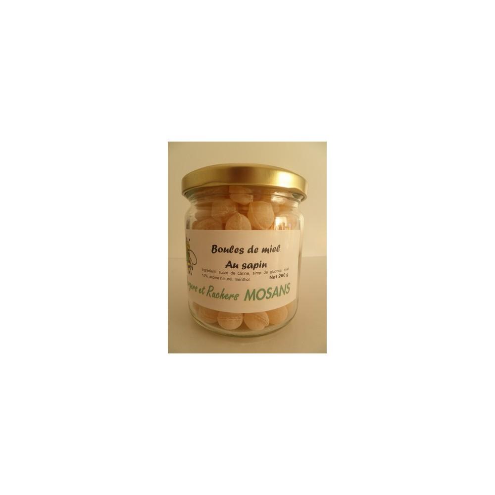 Boules de miel au sapin