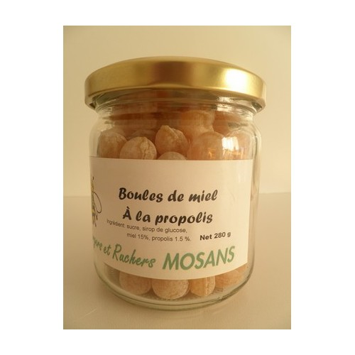 Honingsnoepjes met propolis