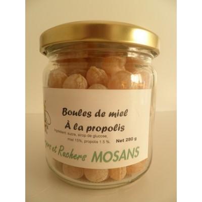 Boules de miel à la propolis
