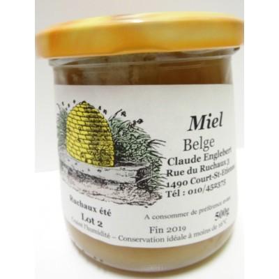 Miel d' été 500 g (Apiculteurs Brabant Wallon)