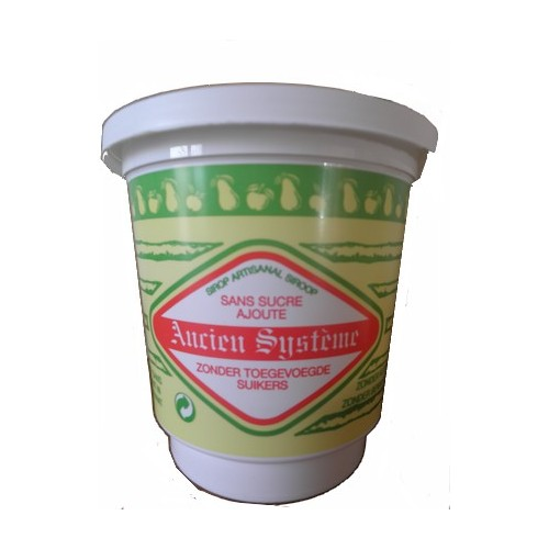 Sirop de Liège sans sucre ajouté 450 g (Siroperie Delvaux)