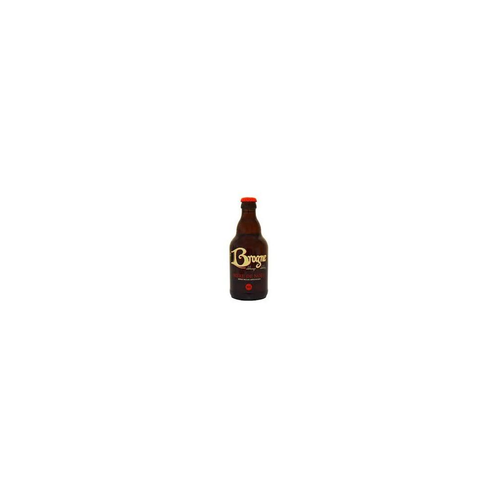 Kerstbier Brogne - echte biologische bier van Abdij 33 cl