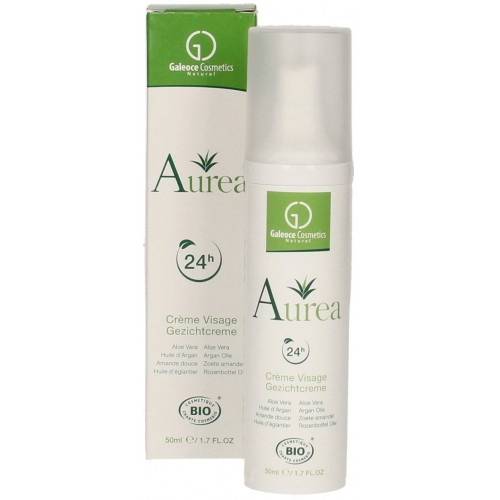 Crème visage 24 h bio (Aurea)