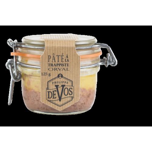 Eend pâté met foie gras en Orval