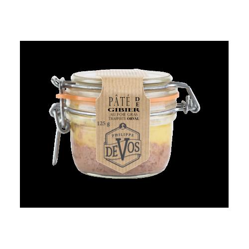Pâté de gibier au foie gras et à l'Orval 125 g (Phil'cuisine)
