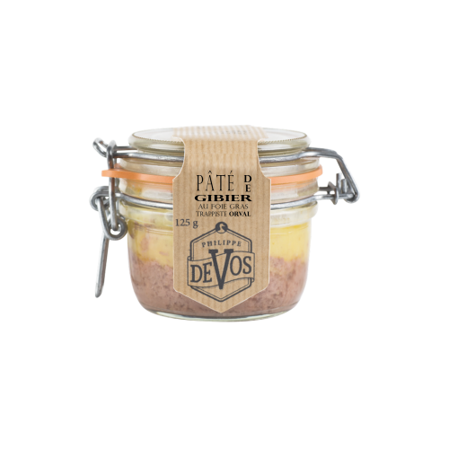 Eend pâté met foie gras en Orval 125 g (Phil' cuisine)