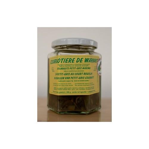 Escargots au court bouillon 24 pièces  (Escargotière de Warnant)