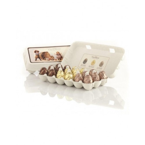 Assortiment oeufs Pâques chocolat (Café-Tasse)
