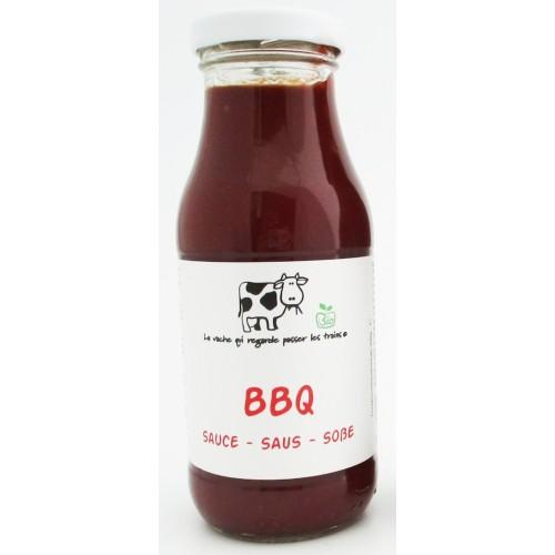 Sauce BBQ bio 300 g (La vache qui regarde passer les trains)